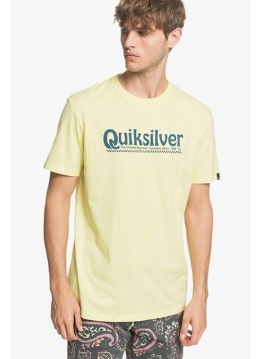 Quiksilver Quiksilver Newslangs Erkek Tişört Eqyzt05754-Gca0 EQYZT05754-GCA0006 Sarı